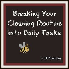 Complete one part of my cleaning routine. If I skip it, I do it tomorrow or later in the week, and if I don't do it then either, that task will loop back around since I have a two week cycle. Don't sweat the small stuff. ; ) And as Flylady and Nike promote: Don't expect perfection . . . Just do it!