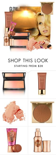 """""""Glow"""" by marionmeyer ❤ liked on Polyvore featuring beauty, Consuelo, Kevyn Aucoin, Estée Lauder, Bobbi Brown Cosmetics, Stila, Benefit, Elizabeth Arden and springglow"""