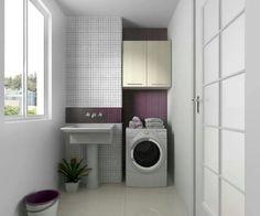 Inspiraçao para pequena lavanderia