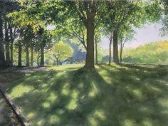 夏の水彩画帖 Summer - あべとしゆき水彩画ギャラリー Abe Toshiyuki Watercolor Web Gallery もっと見る