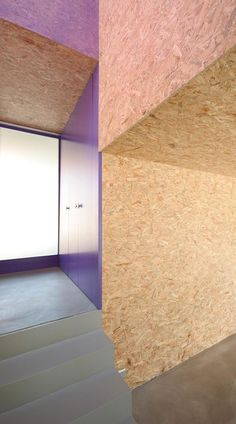 Pre fabricated Home With Painted OSB Panels home design