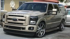 EX Ford Excursion, Badass, Vehicles, Car, Automobile, Autos, Cars, Vehicle, Tools
