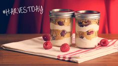 Raspberry Cheesecake Jars For Your Sweetie