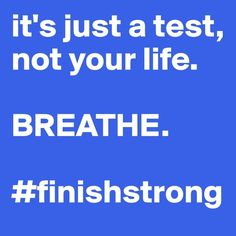 Perspective. #finishstrong