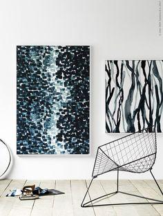 DIY – tavlor av textil