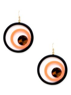 Multi Circle Drop Earrings by Bellissima at Gilt