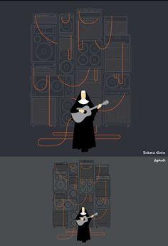 The Rockin' Nun. I know a nun like this!!