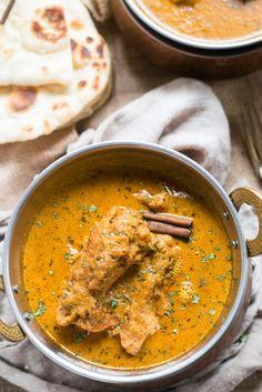 Badami Chicken - Almond Milk Curry | World Recipe Collection