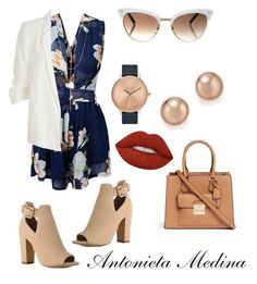 """Untitled #150"" by antoo-xoxo on Polyvore featuring Michael Kors, Gucci, River Island, Nixon, Lana, Bloomingdale's and Lime Crime"