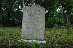 Sapelo Island Georgia | Ceaser Jackson Headston Star Motif Behavior Cemetery Sapelo Island GA ...