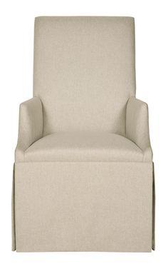 Design Center Associates | Tessa skirted side chair | 353-504 | 23w x 27.25d x 41 5/8h | Bernhardt | Aug 2015