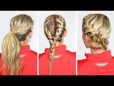 8 Memorable Female Athletic Hairstyles at London 2012 Olympics # Braids for school workout hairstyles Track Hairstyles, Running Hairstyles, Athletic Hairstyles, Workout Hairstyles, Down Hairstyles, Braided Hairstyles, Softball Hairstyles, Sporty Hairstyles, Race Day Hair