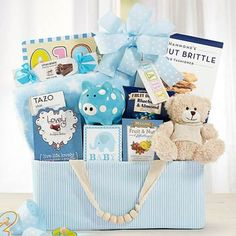 Baby Boy Animal Friends Basket. See more at www.pro-gift-baskets.com!