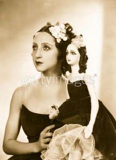 Alexandra Danilova with her Boudoir Doll