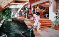 I would like a house just like this one. A trilevel. Unique House Design, Natalie Wood, Salt And Water, Brainstorm, Living Area, Home Goods, Movies, Films, Awesome House