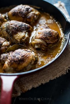Baked Milk Chicken Thighs