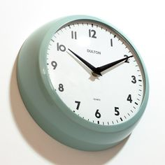 ■ THICK WALL CLOCK CLASSIC GREEN (チックウォールクロック クラシックグリーン)