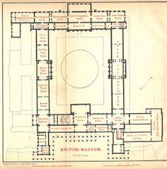 Plan of British Museum 1894