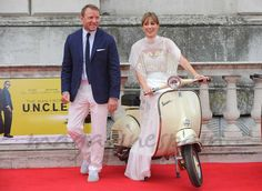 Guy Ritchie y Jacqui Ainsley