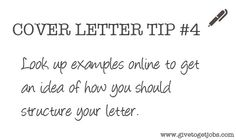 Cover Letter Tip #4 http://careers.ua.edu