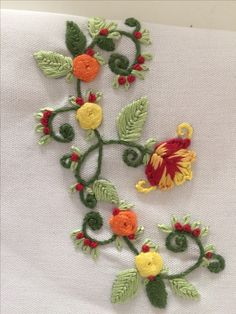 Wonderful Ribbon Embroidery Flowers by Hand Ideas. Enchanting Ribbon Embroidery Flowers by Hand Ideas. Hand Embroidery Flowers, Silk Ribbon Embroidery, Hand Embroidery Patterns, Embroidery Kits, Floral Embroidery, Machine Embroidery Designs, Embroidery Supplies, Embroidery Needles, Brazilian Embroidery Stitches