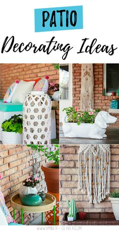 Patio Decorating Ideas Our Refresh Funky Home Decordiy