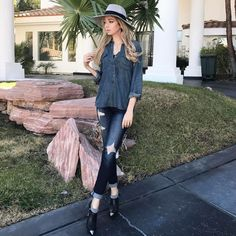 "#FashionConfessions: The 125-year old mill look is currently celebrities favorite go-to look. New article on iHeartMarina.com, ""#HOWto: THE DOUBLE DENIM GOLDEN RULES TO LIVE BY IN 2017."" Link below 👱🏻‍♀️👕👖 #marinaberberyan #iheartmarina   http://iheartmarina.com/how-to-the-double-denim-golden-rules-to-live-by-in-2017-i-heart-marina/"