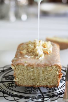 Bill Granger's Lime, Coconut and Macadamia Cake with Lime Glaze