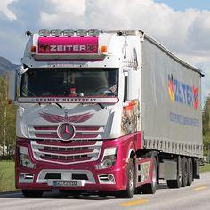 """""""Zeiter"""" #Mercedes#MercedesTruck#Zeiter#GermanHartbeat#DeutschTrucking"""