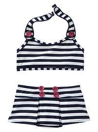 Baby Clothing: Toddler Girl Clothing: Cannes | Gap sailor swimming suit 4th of july