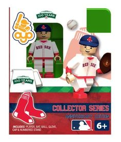 Boston Red Sox Fenway Park 100th Anniversary OYO Building Toy MLB Collectible Figure by Oyo. $8.99. OYO minifigures are building toys made for the sports fan in all of us. OYO Sportstoys are minifigures designed to resemble Major League Baseball players, and are new to the roster of officially licensed Major League Baseball products in 2012.