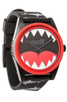 NEFF Watch Daily Wild in Sharkatak Black - Karmaloop.com