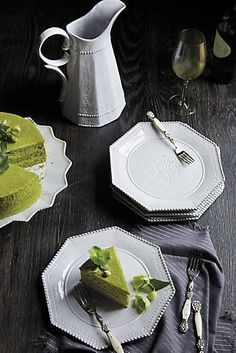 Explore Anthropologie's unique tabletop featuring kitchen & dining collections, dinner collections, serveware, kitchen accessories and more. Bohemian Kitchen, Kitchenware, Tableware, Dinnerware Sets, Classic Dinnerware, Kitchen Collection, Kitchen Essentials, Trends, Kitchen Styling