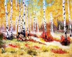 CHOOSE YOUR SIZE PRINT FROM THE DROP DOWN MENU ♥ ✿ PLEASE NOTE ✿ ( Prices have been adjusted to reflect the shipping difference )  Professional Print Of Original Painting Artist Leslie Allen Title AUTUMN GOLD Watermarks Leslie Allen Fine Art will not appear on print Print will be signed on the back Your print will come in a cellophane sleeve and mailed in a protective mailer with love ♥ Copyright Protected ©   ✿ I CAN CUSTOMIZE THIS FOR YOU ✿ SO IF YOU WOULD LIKE SOMETHING CHANGED CONVO ME…