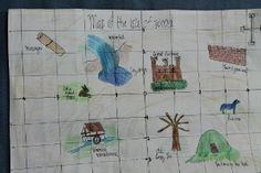 Learning and Growing the Piwi way: Sir Cumference and the Viking's map review and co-ordinate graphing treasure hunt activity