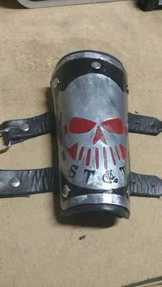 Etched and enameled metal costume armor project