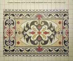 ru / Фото # 42 – Colored templates for embroidery – gabbach - Stickerei Ideen Cross Stitch Embroidery, Embroidery Patterns, Cross Stitch Patterns, Crochet Patterns, Paper Piecing, Needlepoint, Bohemian Rug, Diy And Crafts, Ornament