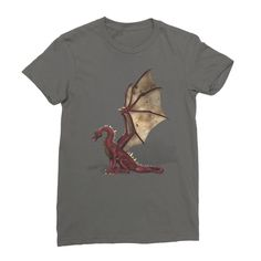 There Be Dragons Women's Fine Jersey T-Shirt