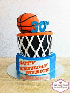 Basket Ball Cake Megs board Pinterest Cake Birthdays and