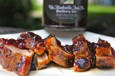 Blackberry-Lime Glazed Pork Tenderloin - Easy and Delicious on the grill!