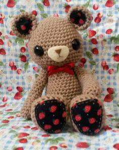Amigurumi Barmy: Heart teddy