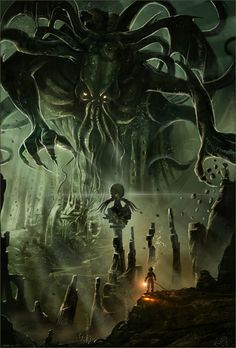 Sorry, it's just that I don't get many visitors. - Cthulu  He doesn't mean to be inhospitable. He'd love to have you for dinner.