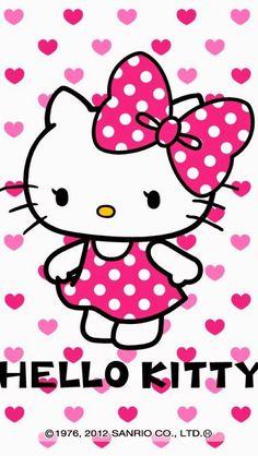 New Wallpaper Pink Disney Hello Kitty Ideas Images Hello Kitty, Hello Kitty Art, Hello Kitty Items, Hello Kitty Birthday, Kitty Kitty, Mobile Wallpaper, Wallpaper Free, Screen Wallpaper, Spring Wallpaper