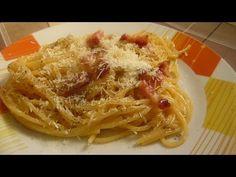 Mama mia! This spaghetti carbonara is finger-licking goodness. #Spaghetti #Food