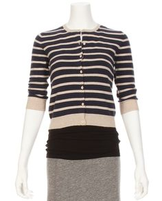 Ron Herman Exclusive Striped Baby Cardigan