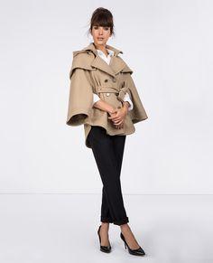 Trench cape | Blousons et manteaux | Comptoir des Cotonniers