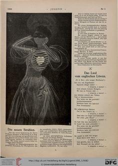 """""""Das Neue Strahlen,"""" Jugend, 1896"""