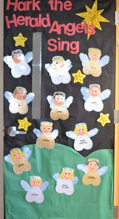 Δραστηριότητες, παιδαγωγικό και εποπτικό υλικό για το Νηπιαγωγείο: Χριστουγεννιάτικες Κατασκευές στο Νηπιαγωγείο (μέρος δεύτερο): Αγγελάκια