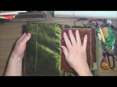 Fabric and Lace Book Binding Methods x 2 #2 - https://www.youtube.com/watch?v=agjnOAKoiDA