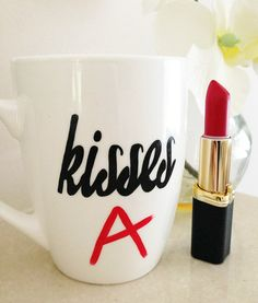 Pretty Little Liars Mug - Kisses - A.  I want this.